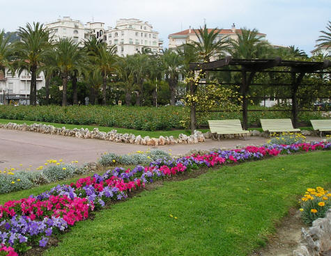 Park on the French Riviera